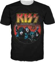 KISS T-Shirt - Destroys Japan, (big print)
