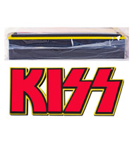 "KISS 3D Logo Foam Wall Sign, 22"" - Red, DOUBLE THICKNESS"