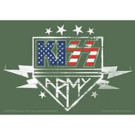 KISS Sticker - KISS Army Flag