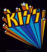 KISS Sticker - KISS Glitter Star Burst