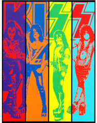 KISS Sticker - KISS Color Slices