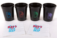 KISS Kruise VI 2016 - KISS Margarita Cups, set of 4