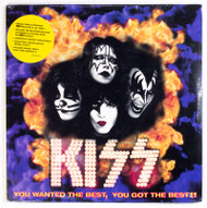 "KISS Vinyl Record - KISS You Wanted the Best 12"" LP, SEALED"