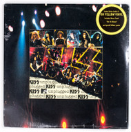 "KISS Vinyl Record - KISS Unplugged, double 12"" LP, sealed, YELLOW Vinyl"