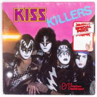 """KISS Vinyl Record - KISS Killers 12"""" LP, German, sealed"""