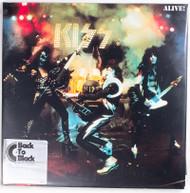 "KISS Vinyl Record - KISS Alive! Double 12"" LP, 180 gram vinyl, 2014 reissue"