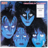 "KISS Vinyl Record - KISS Creatures 12"" LP Glow Vinyl, SEALED"