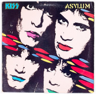 "KISS Vinyl Record - KISS Asylum 12"" LP, (7/10 condition)"