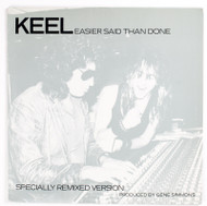 "KEEL Vinyl Record - KEEL Easier Said Than Done 12"" Single, Gene Simmons on cover"
