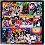 "KISS Vinyl Record - KISS Unmasked 12"" LP, original pressing NBLP 7225, SEALED"