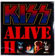 "KISS Vinyl Record - KISS Alive II 12"" LP, original pressing NBLP 7076-2-11.98, SEALED"