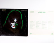 "KISS Vinyl Record - KISS Peter Criss 12"" LP,  all inserts, (7/10 condition)"