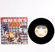 "KISS Vinyl Record - KISS I Was Made For Loving You, France 45 rpm 7"" single"