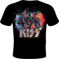 KISS T-Shirt - KISS Live Color Explosion