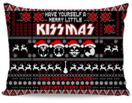 KISS Pillow Case - Merry Little KISSmas