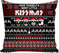 KISS Pillow - Merry Little KISSmas