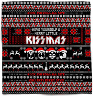KISS Bandana - Merry Little KISSmas