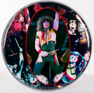Eric Carr Drumhead, (h)