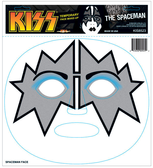 Kiss And Make Up: Ace Frehley DECAL