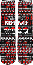 KISS Socks - Merry Little KISSmas Crew Socks