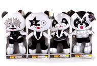 """KISS Plush Figures - KISS Panda Bears, 18"""" LARGE, set of 4"""