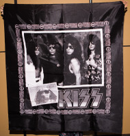 KISS Banner - Hot in the Shade.