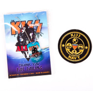 KISS Kruise Dogtag and Patch set - KISS Kruise V