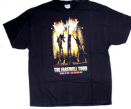 KISS T-Shirt - Farewell Sparks, size XL
