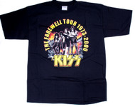 KISS T-Shirt - Farewell Rock and Roll All Nite, size XL