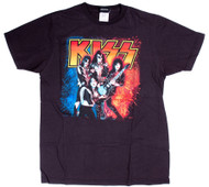 KISS T-Shirt - KISS Destroyer Tour Shirt Reproduction, size M