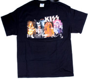KISS T-Shirt - KISS Photos, size L