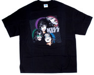 KISS T-Shirt - KISS Illustration, size XL