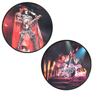 "KISS Vinyl Record - KISS Paul Stanley and Gene Simmons Interview, 1983, picture disc 45 rpm 7"" single, (4 of 4)"