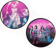 "KISS Vinyl Record - KISS Paul Stanley and Gene Simmons Interview, 1983, picture disc 45 rpm 7"" single, (2 of 4)"