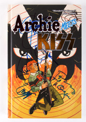 KISS Autographs - Archie meets KISS Hard-Cover Book, signed by Paul, Gene, Tommy and Eric