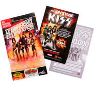 KISS Catalog - Guitar Center Catalog with postcard and flier