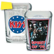 KISS Shot Glass - Square Spirit of '76