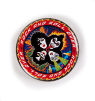 KISS Button - KISS Rock and Roll Over