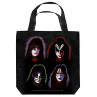 KISS Tote Bag - Solo Faces.