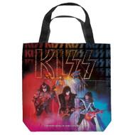 KISS Tote Bag - Unmasked Live