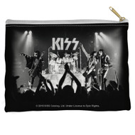 KISS Travel / Accessory Pouch - KISS Alive B&W