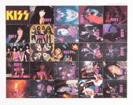 KISS Stamps - Color, sheet of 25