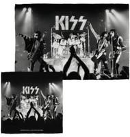 KISS Towel / Washcloth Combo - Alive B&W
