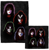KISS Towel / Washcloth Combo - Solo Faces