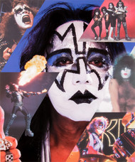 KISS Photograph - Butterfield's Auction 8 x 10, Ace Frehley