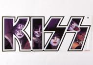 KISS Sticker - KISS Faces in Logo, JUMBO
