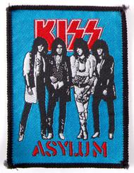 KISS Patch - KISS Asylum, ('80s)