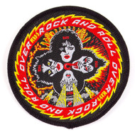 KISS Patch - KISS Rock and Roll Over, ('80s)