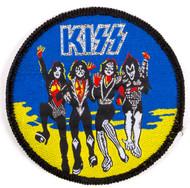 KISS Patch - KISS Destroyer, BLUE ('80s)
