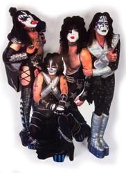 "KISS Wall Plaque - KISS Legends of the Wall, Jumbo, 12"", (no box)"